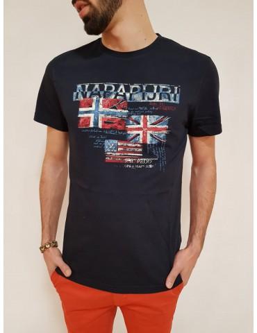 Napapijri t shirt blu Syros