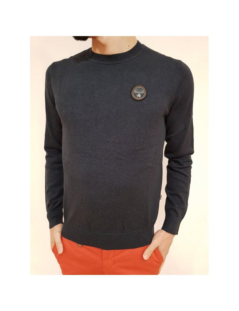 Napapijri maglia blu girocollo Dorel n0yht4176 NAPAPIJRI MAGLIE UOMO 65,57€