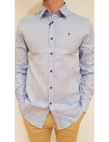 Blue Trussardi shirt Miami Oxford