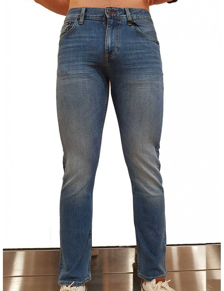Jeans Tommy Hilfiger bleecker slim fit mw0mw10871911 TOMMY HILFIGER JEANS UOMO product_reduction_percent