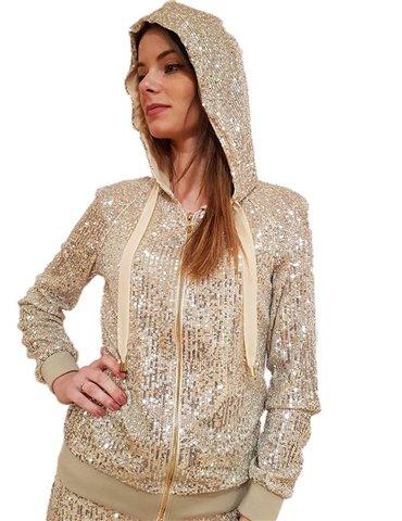Fracomina camicia bianca con borchie