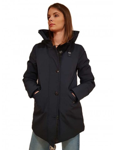 Parka Blauer Reynolds blue in neoprene
