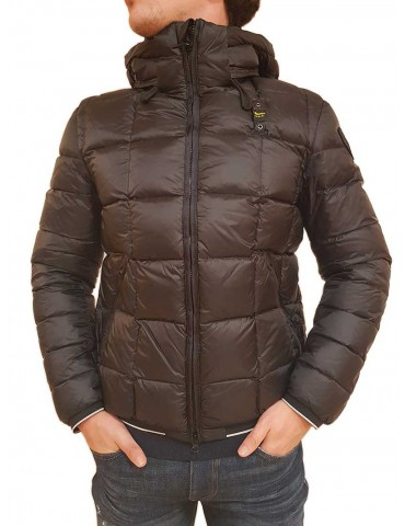 Blauer black down jacket with Barnes hood