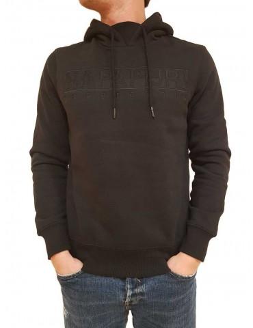 Black Napapijri Berber hoodie