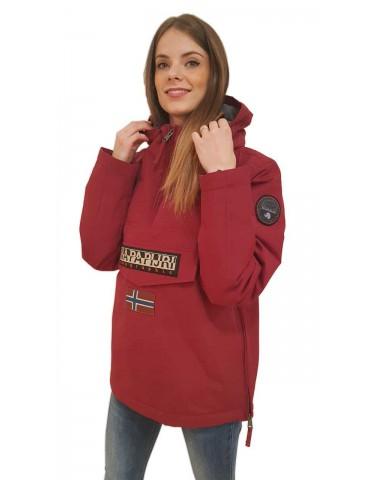 Napapijri burgundy Rainforest jacket
