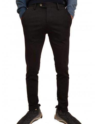 Roberto P Luxury pantalone skinny nero punto Milano