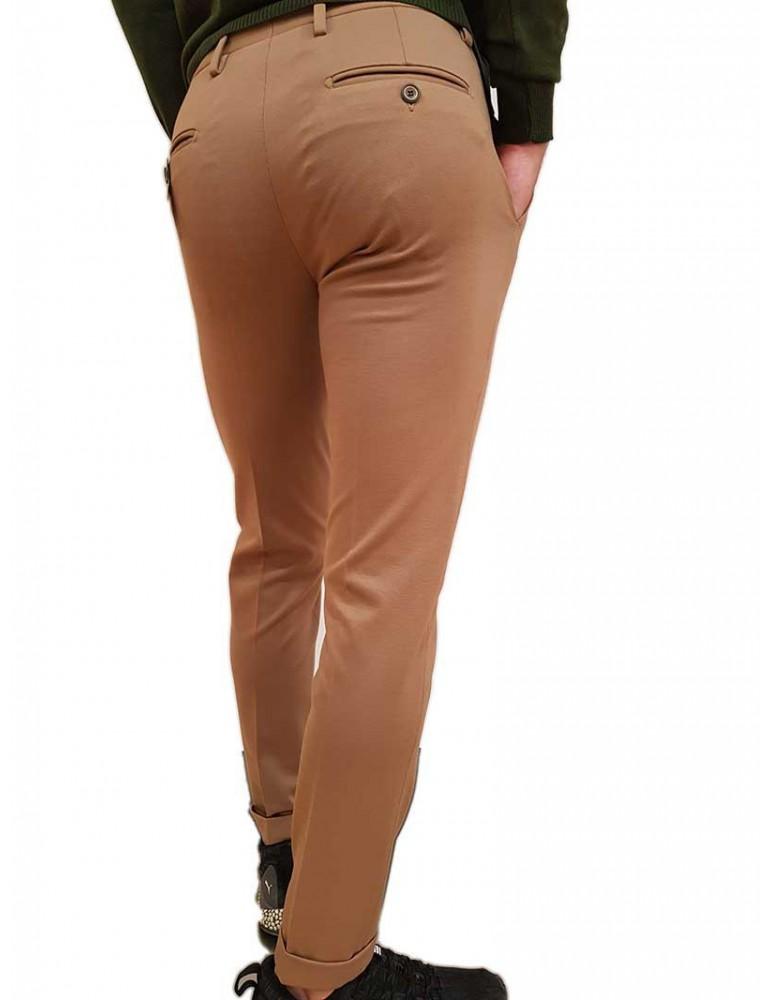 Roberto P Luxury pantalone skinny alla caviglia cammello pd-1mas8 ROBERTO P LUXURY PANTALONI UOMO product_reduction_percent