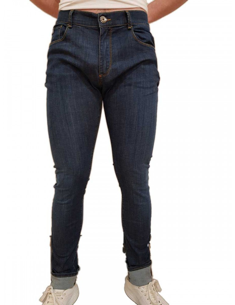 Jeans Trussardi 370 extra slim fit 52j00008-1t002604c003 TRUSSARDI JEANS JEANS UOMO product_reduction_percent