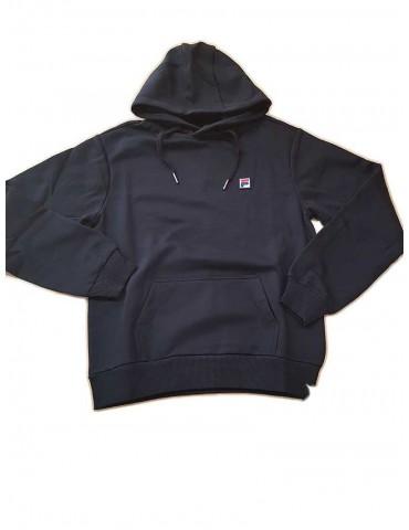 Black hoodie Fila hooded