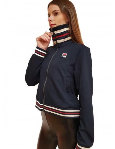 Fila blue zip hoodie without Lerdidwen hoodie