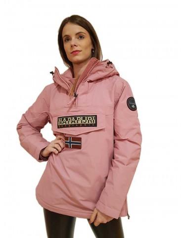 Napapijri giacca Rainforest rosa