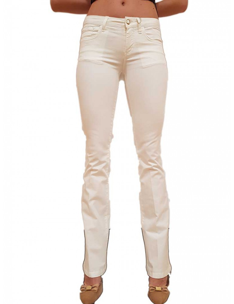 Fracomina pantalone Pamela 3 cotone bianco 5 tasche fr20spcpamela3108 FRACOMINA PANTALONI DONNA product_reduction_percent