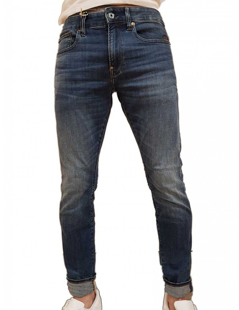 Jeans G-Star Raw Revend skinny medium indigo aged 5101089686028 G-Star Raw JEANS UOMO product_reduction_percent