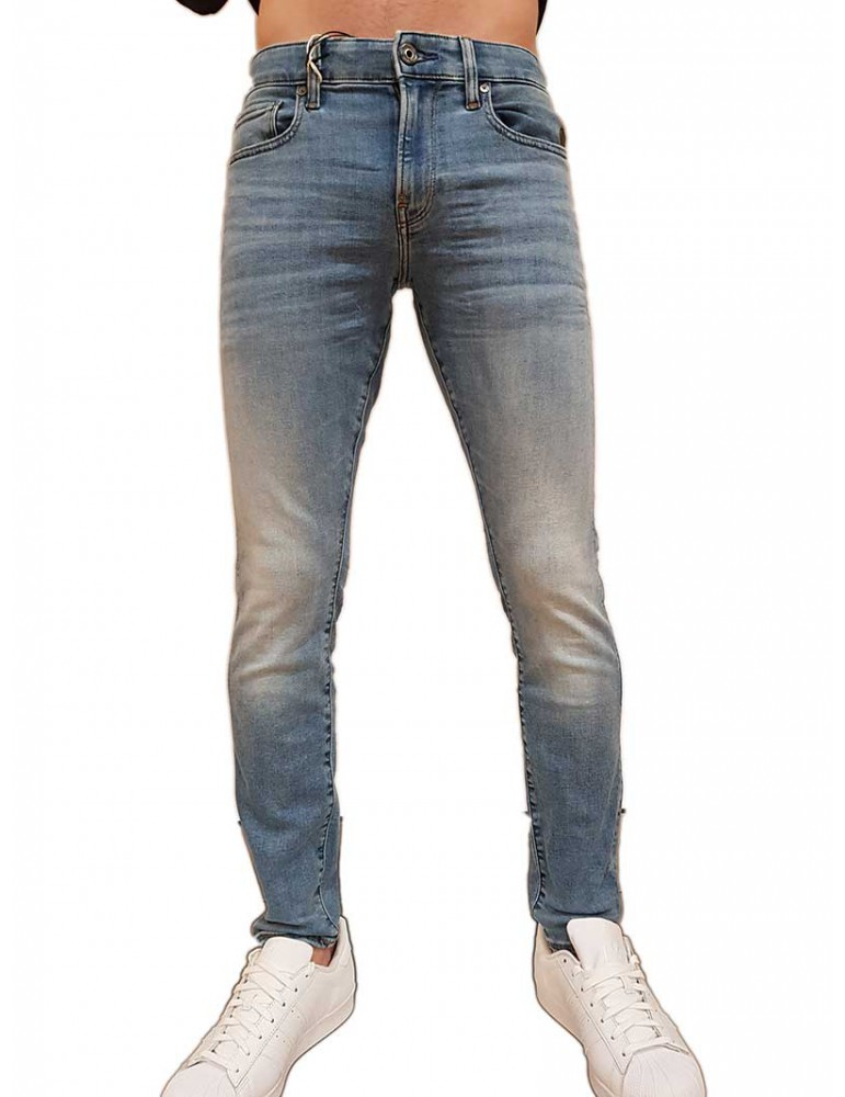 Jeans G-Star Raw skinny Revend light indigo aged elto superstretch 5101089688436 G-Star Raw JEANS UOMO product_reduction_percent