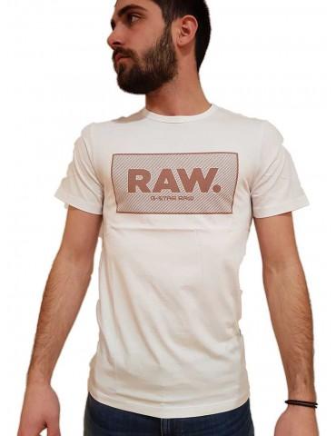 T shirt G-Star Raw Boxed Gr bianca
