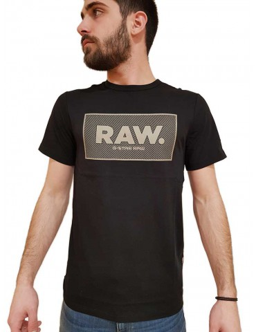 G Star Raw t shirt nera Boxed Gr