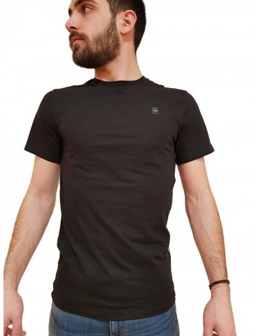 T shirt G-Star Raw nera Base-S