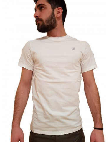 T shirt G-Star Raw Base-S bianca