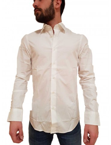 Camicia G-Star Raw Raw Core super slim bianca