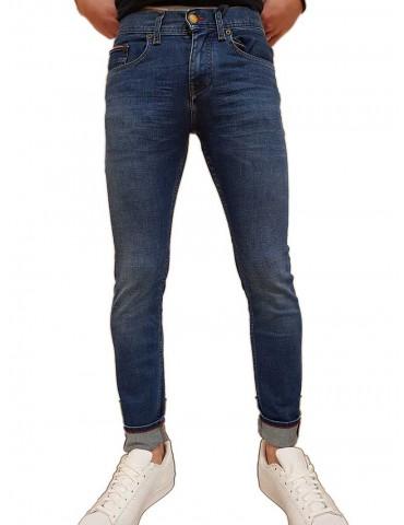 Jeans Tommy Hilfiger Layton extra slim pelion blue