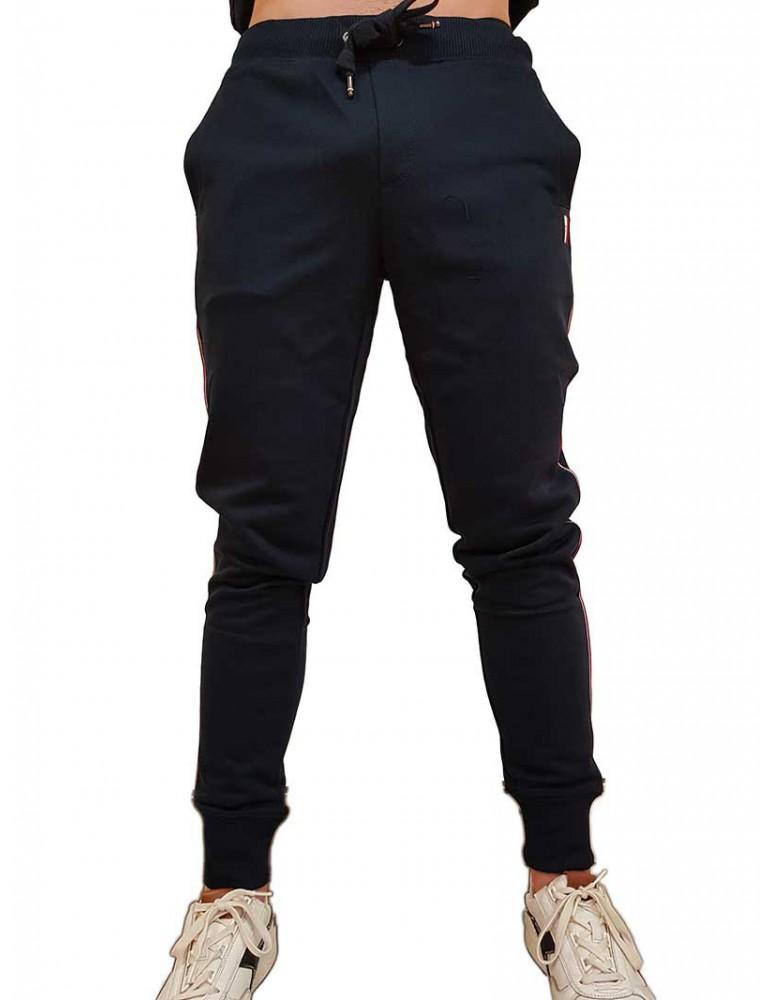 Pantalone tuta Tommy Hilfiger blu mw0mw10513403 TOMMY HILFIGER PANTALONI UOMO product_reduction_percent