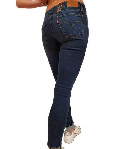 Jeans Levi's® 710® innovation super skinny colorazione media