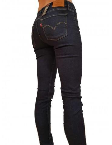 Jeans Levi's 710 blu scuro innovation super skinny