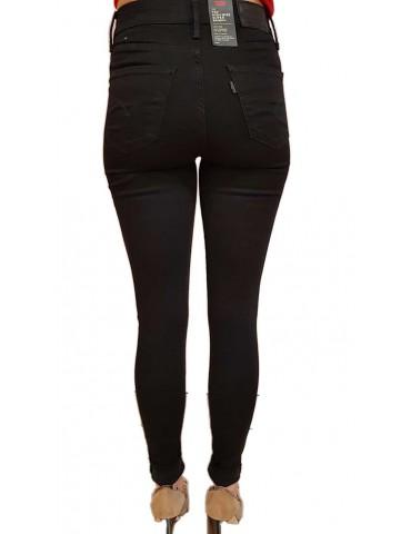 Jeans levi's 720 nero super skinny