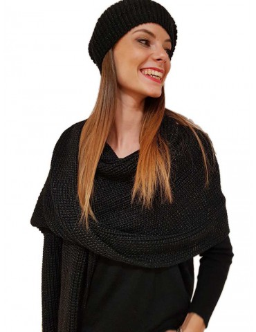 Gaudi berretto donna nero