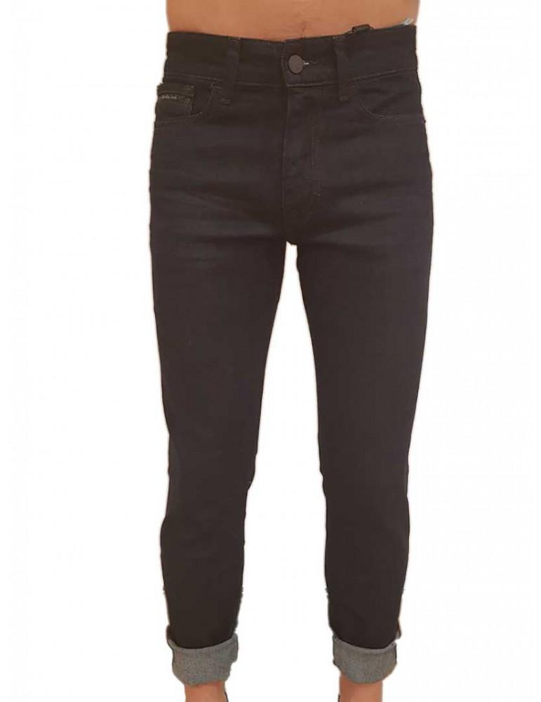 Jeans skinny Calvin Klein Topaz rinse  j30j307436911 CALVIN KLEIN JEANS JEANS UOMO product_reduction_percent