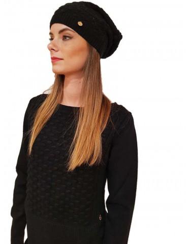 Fracomina black fr18fp209 hat