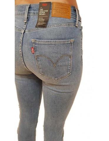 Levi's jeans 720 vita alta super skinny