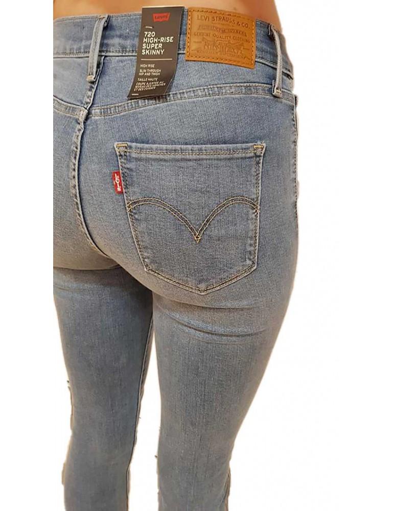 Levi's jeans 720 vita alta super skinny 52797-0059 LEVI'S JEANS DONNA product_reduction_percent