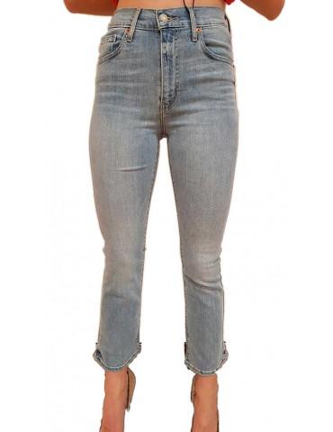 Levi's jeans donna vita alta crop