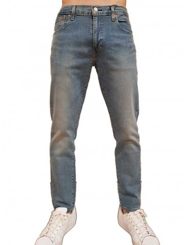 Levi's 512 jeans slim taper pelican rust blu