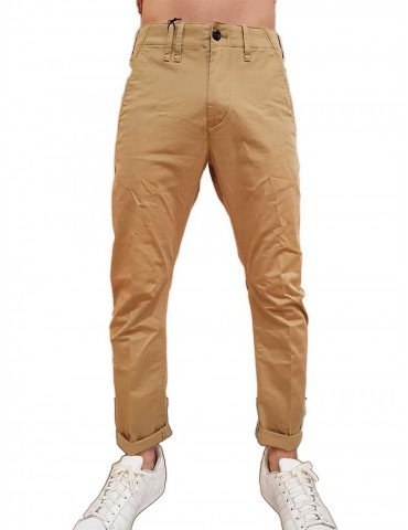 Pantalone G-Star Raw Vetar slim chino beige