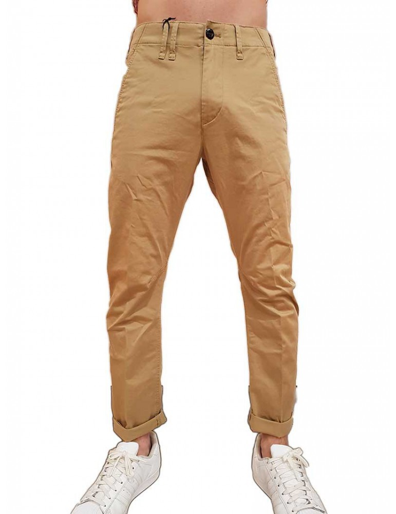 Pantalone G-Star Raw Vetar slim chino beige d140275126436 G-Star Raw PANTALONI UOMO product_reduction_percent