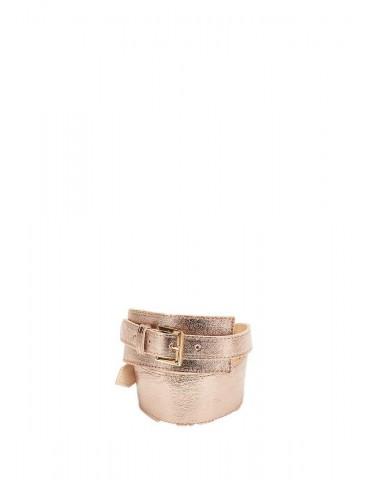 Cintura doppia fibbia Gaudi oro