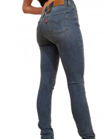 Jeans Levi's® 711® skinny vita media indigo