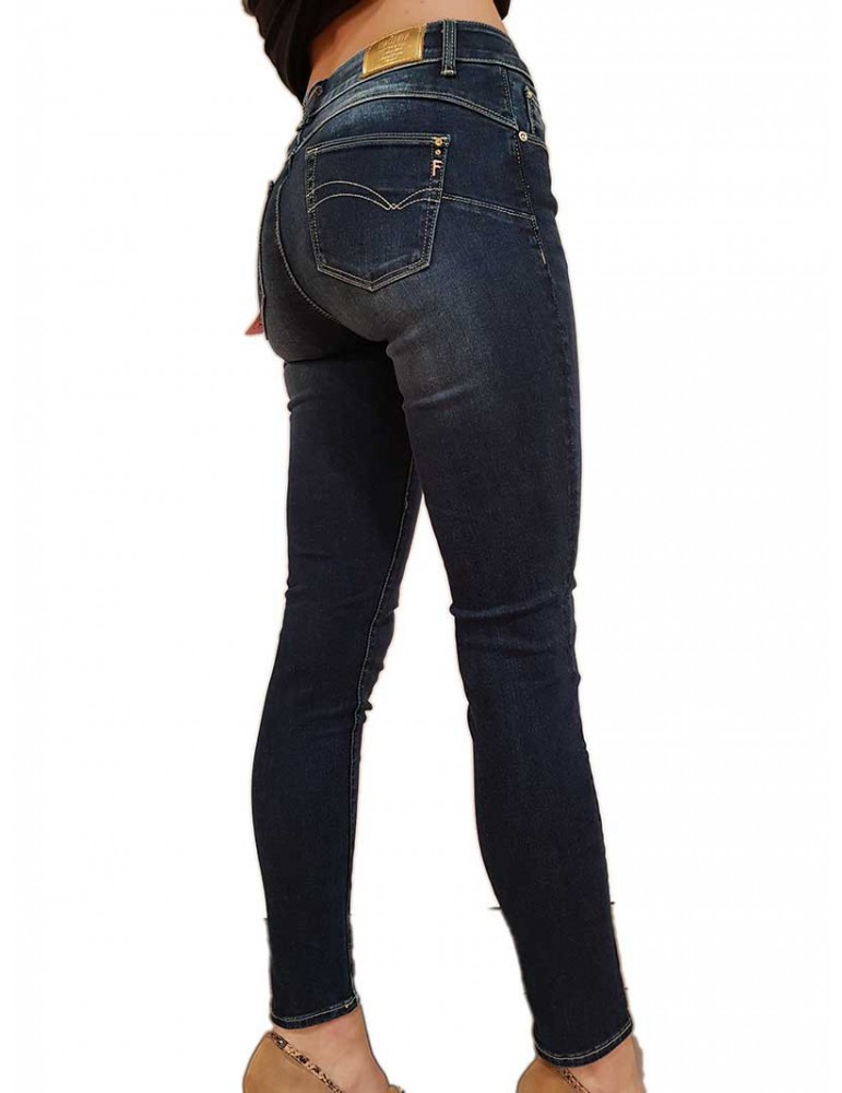Jeans Bella Fracomina blu scuro fr20spjbella117 FRACOMINA JEANS DONNA product_reduction_percent