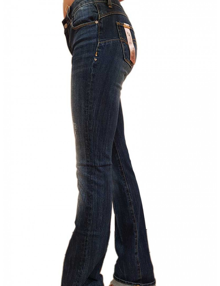 Jeans Fracomina Bella bootcut stonewash fr20spjbellab12349 FRACOMINA JEANS DONNA product_reduction_percent