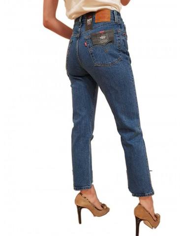 Levi's® 501™ donna crop jive stoneblu
