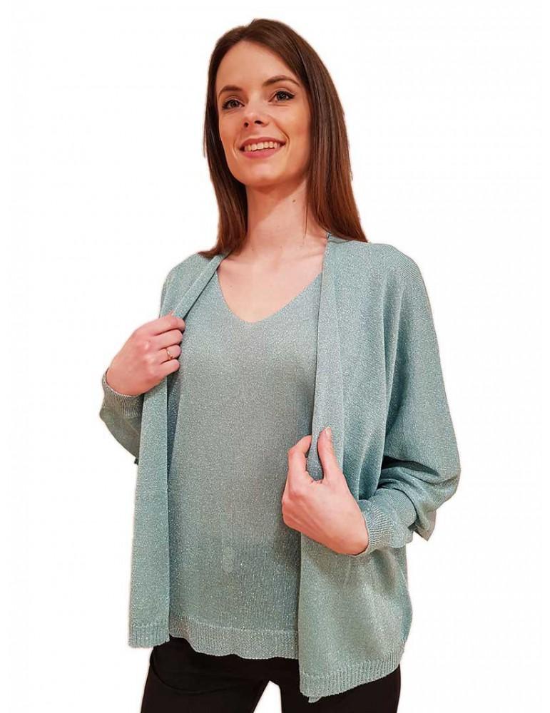 Cardigan Gaudi verde menta 011fd53010 GAUDI MAGLIE DONNA product_reduction_percent