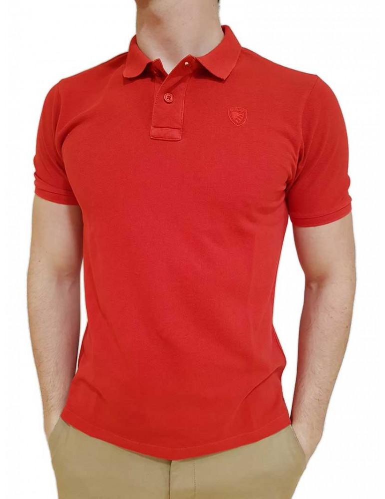 Blauer polo rossa 19SBLUH02222005287451 BLAUER USA T SHIRT UOMO product_reduction_percent