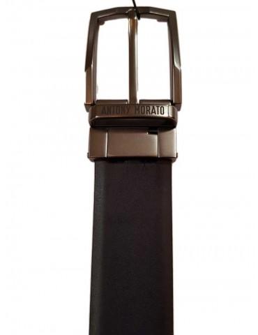 Antony Morato cintura reversibile nera in pelle