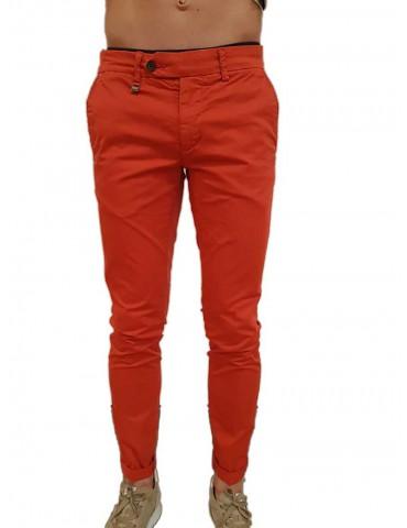 Antony Morato Bryan coral skinny trousers