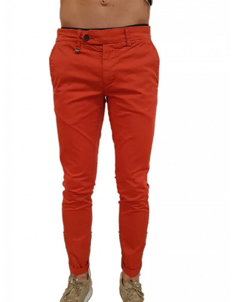Antony Morato pantalone skinny corallo Bryan mmtr00387fa8000605028 ANTONY MORATO PANTALONI UOMO product_reduction_percent