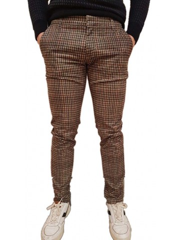 Antony Morato skinny trousers pied de poule