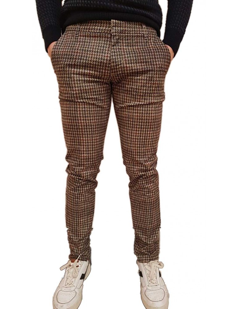 Antony Morato pantalone skinny pied de poule nntr00173fa8500632036 ANTONY MORATO PANTALONI UOMO product_reduction_percent