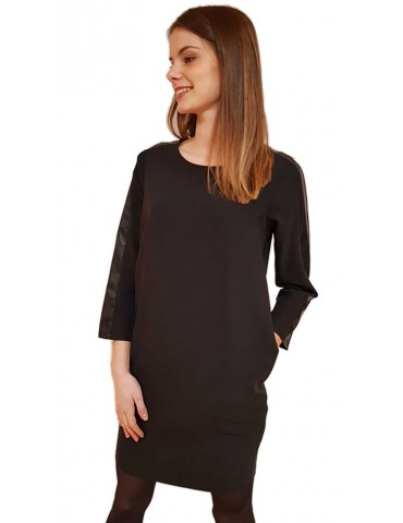 fracomina dress in black shirt
